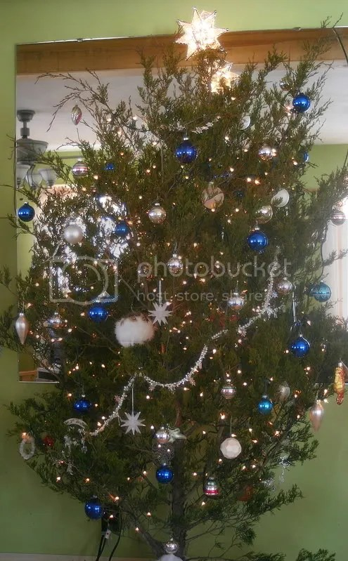 Our Charlie Brown Tree
