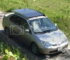 solar powered sedan