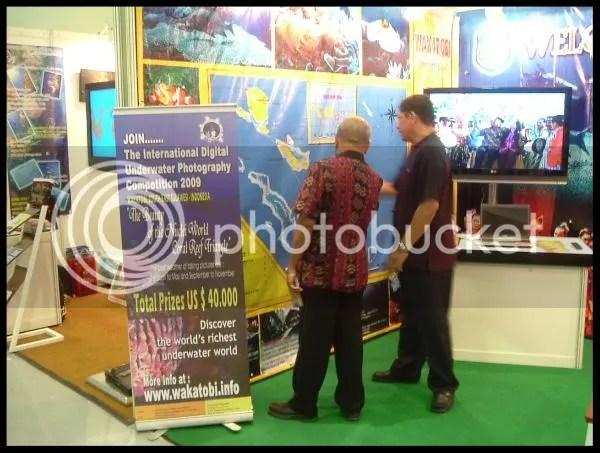 Booth Wakatobi, Sulawesi Tenggara