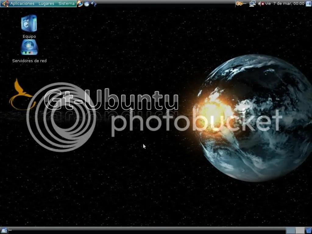 escritorio de gt-ubuntu