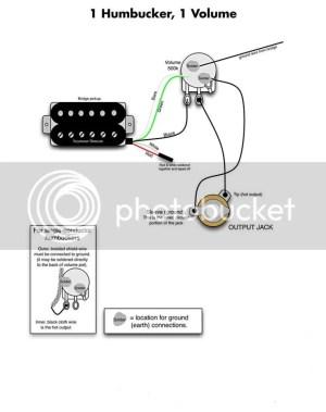 Single humbucker wiring | My Les Paul Forum