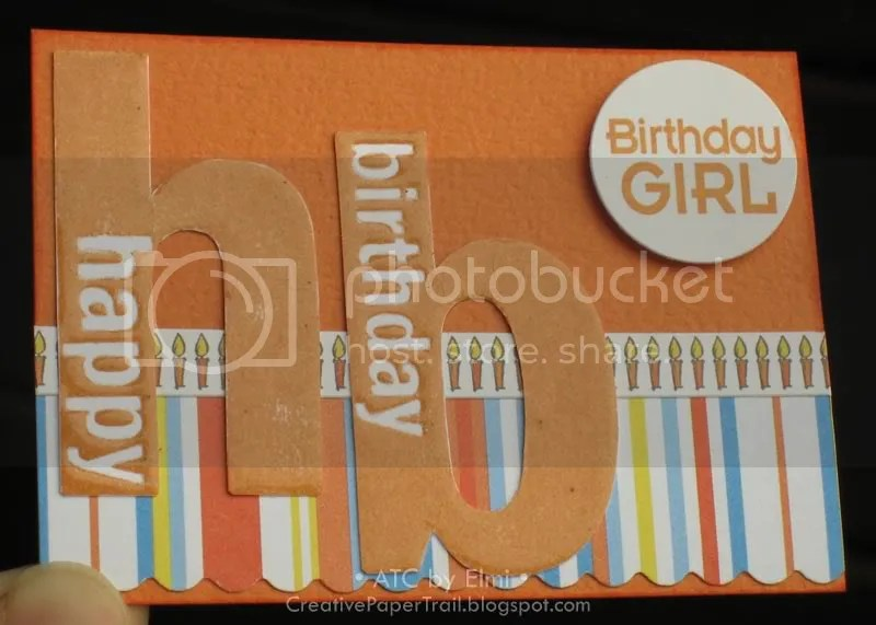 'Birthday Girl' ATC