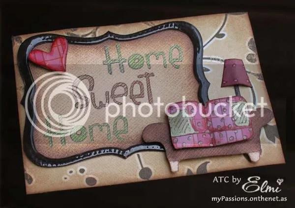 'Home Sweet Home ATC