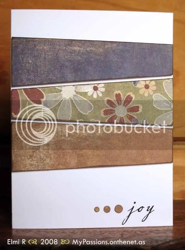 Autumn Joy card