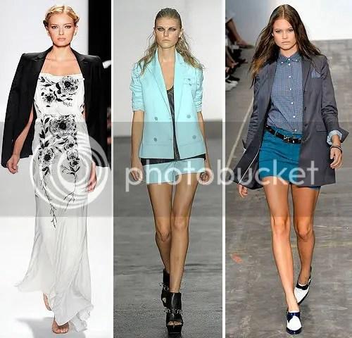 Looks from Carolina Herrera, Alexander Wang and Rag & Bone SS09