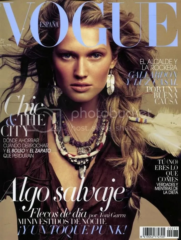 Toni Garrn for Vogue Spain