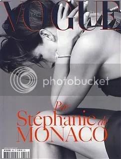 Vogue Paris December/January 2008/09/ Princess Stephanie of Monaco