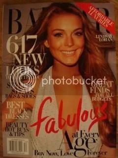 Harpers Bazaar -December 2008/Lindsay Lohan