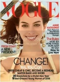 Vogue January 2009/Anne Hathaway
