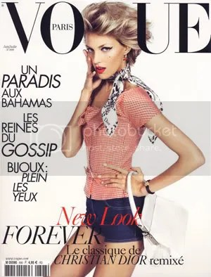For the mere fact Anja Rubik finally gets an important and well-earned Vogue cover, Im sold!