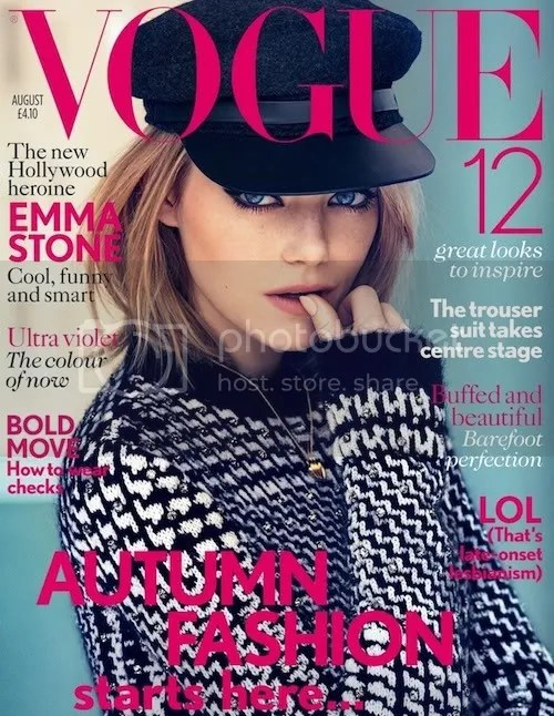 Emma Stone Vogue UK Patrick Demarchelier