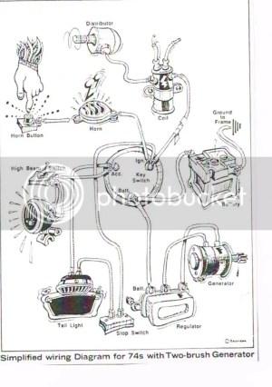 An actual wiring diagram