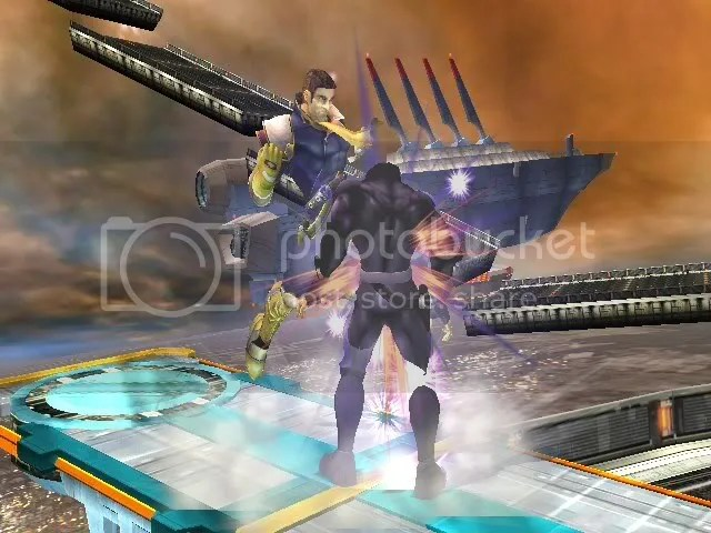 Helmetless Captain Falcon 2