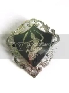 info about vintage Siam silver niello jewellery