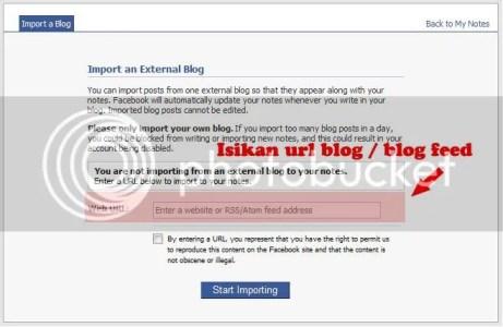 Impor External Blog