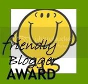 Friendly Blogger Award