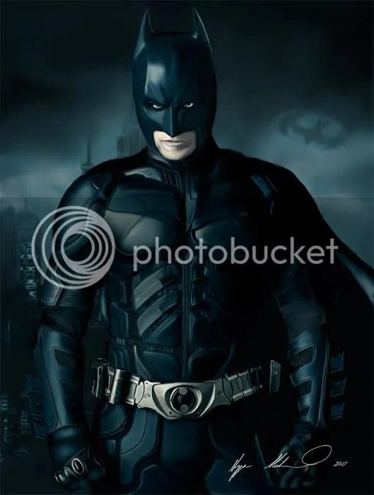 Batman Signed