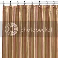 Andre Stripe Wamsutta Shower Curtains