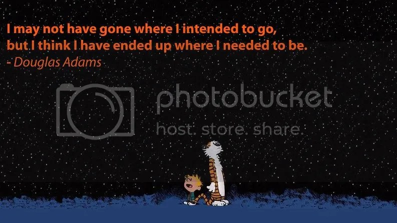 Calvin and Hobbes + Douglas Addams