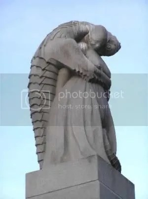 Vigeland Park, Oslo. How about a sculpture of me punching one of those things in the face?