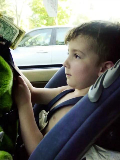 Akira In the Car