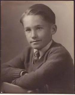 Grandpa Bob as a Kid