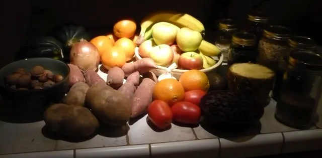 A Weeks Produce