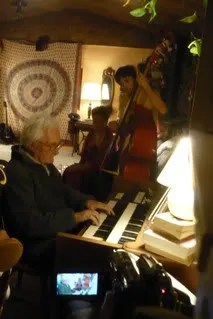Grandpa Bob Performs with Damian, Lester Family Entertainment Night