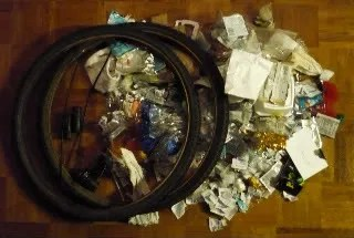 Landfill, 2-20-09, 6 Pounds (mostly the tires)