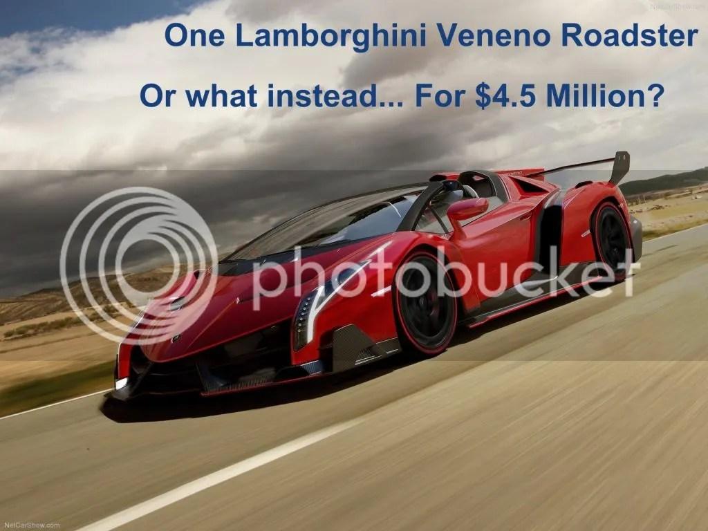Lamborghini Veneno Roadster Price Game