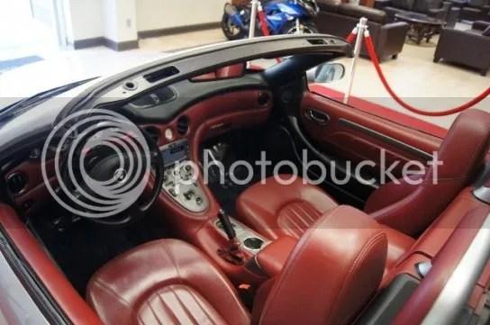 Used Maserati Interior
