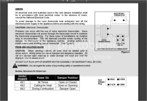 Wiring Diagrams For Flue Dampers  Trusted Wiring Diagrams