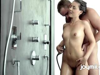 Free Iwia Has Wet Passionate Sex In Huge Shower Porn Video Slutload Mobile