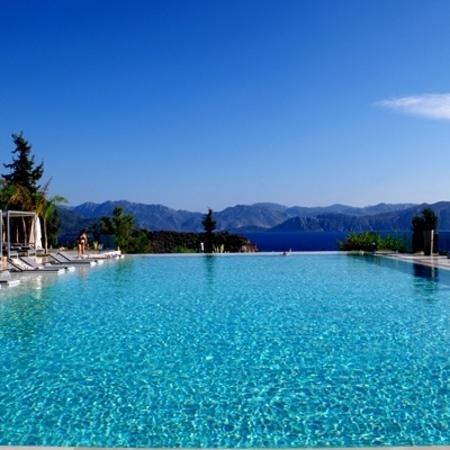 Turkey, swimming pool
