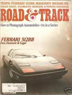 Road & Track March 1978