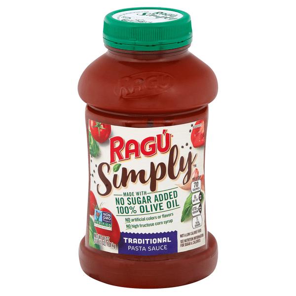 ragu simply pasta sauce traditional