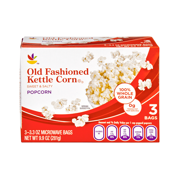 stop shop microwave popcorn kettle corn old fashioned