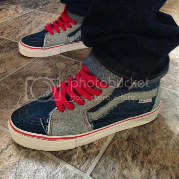 chrisVH - Vault x Marc Jacobs Denim Sk8-Hi LX