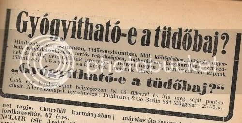 marketing és infó-szerzés a'lá 1940/41