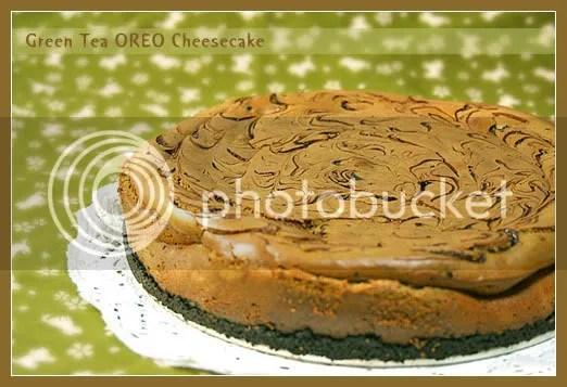 绿茶奥立奥芝士蛋糕