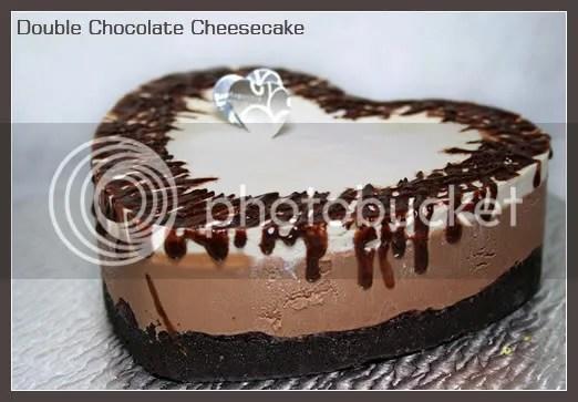 黑白巧克力芝士蛋糕