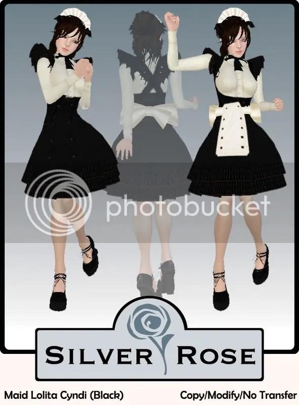 Maid Lolita Cyndi (Black)