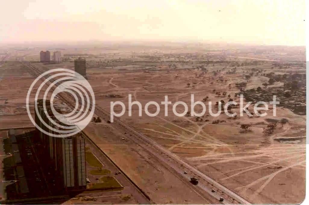 Дубай в 1991 году