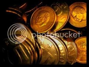 Unas cuantas monedas...