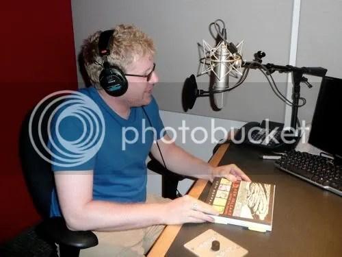 Josh at the mic