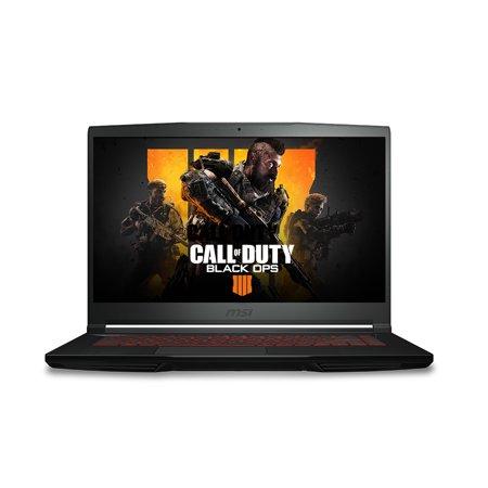 "MSI GF63 8RC-264 Performance Gaming Laptop 15.6"", Intel 8th Gen i7-8750H, NVIDIA GeForce GTX 1050 4G, 256GB SSD + 1TB HDD, 16GB RAM, Windows 10 - Black - GF63264 - Free COD4 Black Ops (details below)"