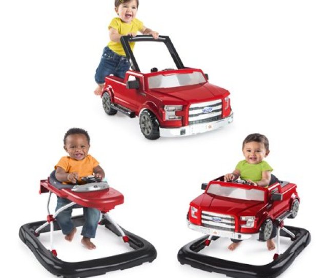 Bright Starts  Ways To Play Ford F Baby Walker