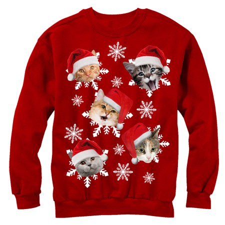 Featuring hundreds of styles and designs, you're guaranteed to find the perfect ugly Christmas sweater for all of your holiday festivities! Whether you're looking to be the life of the party or just want to spread a little Christmas cheer, these ugly sweaters will be your best holiday purchase yet. Bonus corny points if you buy matching.