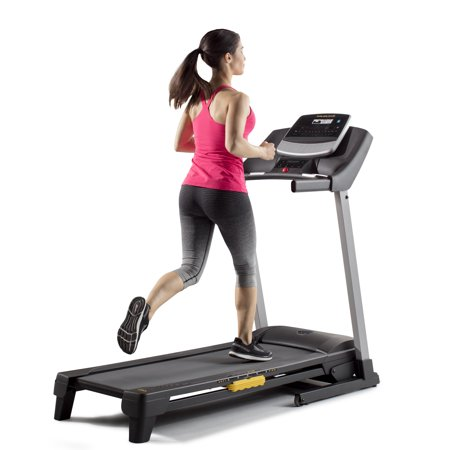Gold's Gym Trainer 430i Treadmill with Easy Assembly and LCD Display