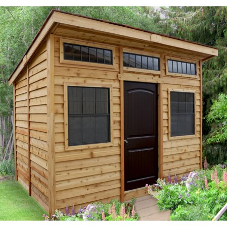 Outdoor Living Today Studio 12 x 8 ft. Garden Shed ... on Garden And Outdoor Living  id=78313